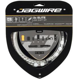 Jagwire 2X Elite Link Set Cable Cambio, Plateado